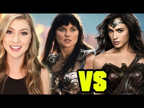WONDER WOMAN vs XENA WARRIOR PRINCESS?? - Q&A