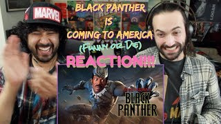 BLACK PANTHER Is Coming To America - REACTION!!! by The Reel Rejects