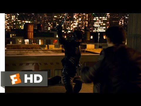 Ninja (8/10) Movie CLIP - Rooftop Battle (2009) HD