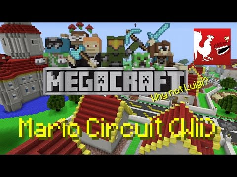 Mario - Matt and Ray grab a Wii Wheel and race through Dr Boomerang's Mario Circuit recreation in this weeks MegaCraft! If you want us to check out your map to be featured head to the group and submit...