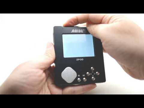 How to install the ZPOD - The Pi Zero Portable HiFi Player / Retropie Game Player