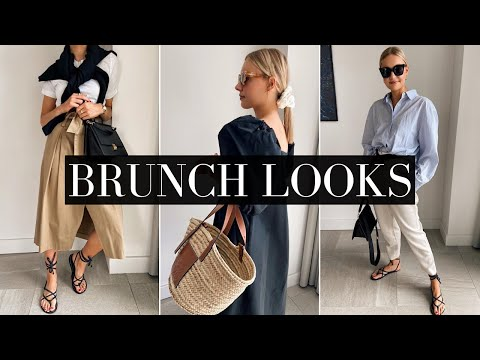 BRUNCH OUTFITS | SMART/CASUAL DAYTIME LOOKS