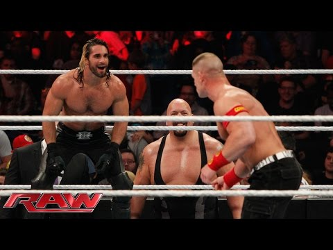 Download John Cena vs. Seth Rollins - Lumberjack Match: Raw, January 12, 2015 HD Mp4 3GP Video and MP3