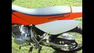 1. honda crf100 2008