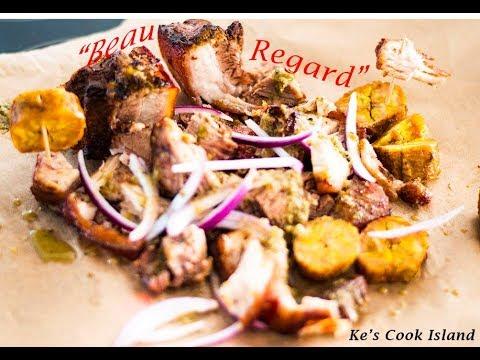 Beau Regard (Stewed pork and Plantains) [Episode 29]- Ke's Cook Island