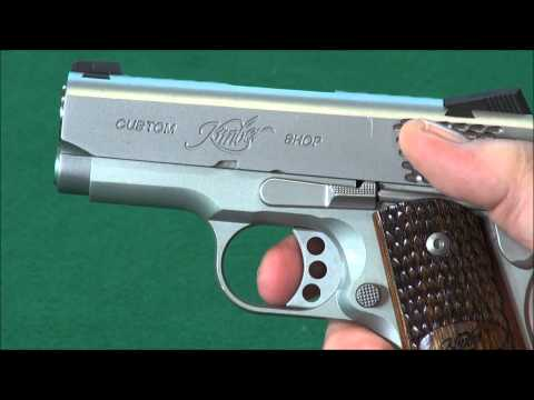 "Kimber Ultra Raptor II 3″ Cannon,  "".45 Cal Concealment Perfection"" Review weaponseducation"