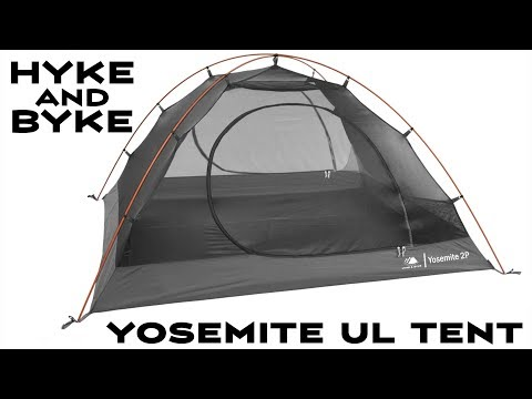 2018 Model - Hyke & Byke Yosemite 2P Backpacking Tent