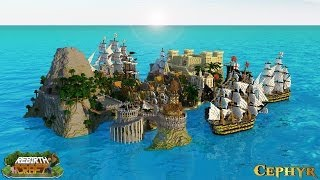 -------------------------------------------------------------------------------Server IP: Play.Cephyr.netRebirthCraft Server IP: Play.rebirthcraft.netServer Sponsors: https://www.envioushost.com/-------------------------------------------------------------------------------'Parlé' is another survival games map consisting of pirate controlled islands being attacked by a fleet of British ships. The map itself features a large Spanish castle, fort and a town followed by tribal Aztec ruins hidden within an inactive volcano. This map was built for RebirthCraft.Approximate Build Time: 50 Hours♥ Enjoy and don't forget to comment, rate and Subscribe! ♥ ♦PMC: http://www.planetminecraft.com/project/parl---survival-games-map-for-rebirthcraft/♦Texture pack: Atherys Ascended Texture Pack:http://atherys.com/threads/atherys-ascended-texture-pack.27/------------------------------------------------------------------------------------------------ ♫Music by pmwa (on audiojungle)♫http://audiojungle.net/user/pmwaSong used: Darkness Fallshttp://audiojungle.net/item/darkness-falls/1929850?WT.ac=solid_search_item&WT.seg_1=solid_search_item&WT.z_author=pmwa♥Please check out the music it is amazing!♥------------------------------------------------------------------------------------------------▪ Follow us on Twitter:https://twitter.com/CephyrMC▪ Like us on Facebook:https://www.facebook.com/CephyrMC▪Subscribe to Cephyr: http://www.youtube.com/subscription_center?add_user=cephyrmc