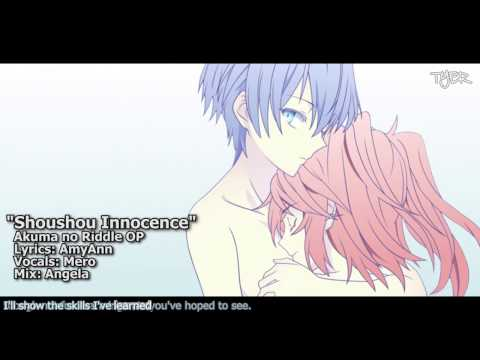 "[TYER] English Akuma no Riddle OP - ""Sōshō Innocence"" [feat. Mero]"