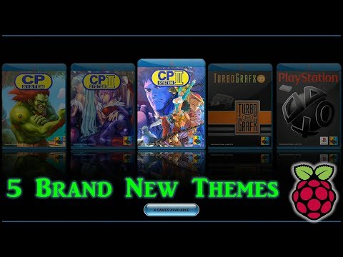 5 Brand New Emulation Station Themes & How To Upgrade