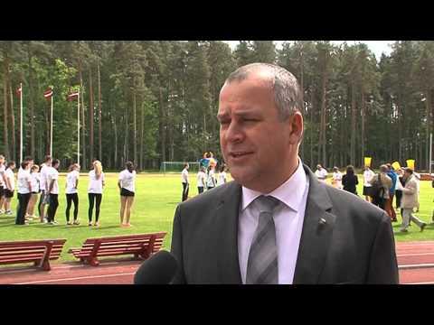 Preses konference par Latvijas Jaunatnes vasaras Olimpiādi