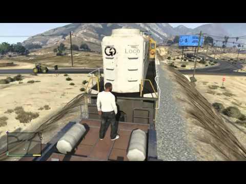 comment prendre un train dans gta 5