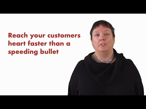 Reach your customer's heart faster than a speeding bullet