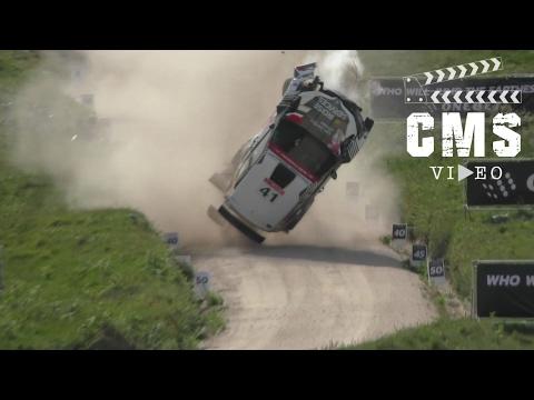 Big Crash Skoda Fabia r5  WRC Portugal 2017  Q. Gilbert & R. Jamoul  CMS Video