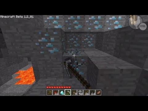 Minecraft: Amazing Diamond Map Seed