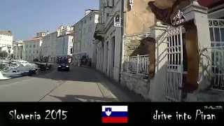 Portoroz Slovenia  city photos : drive into Piran and through Portoroz Slovenia 24-Mar-2015