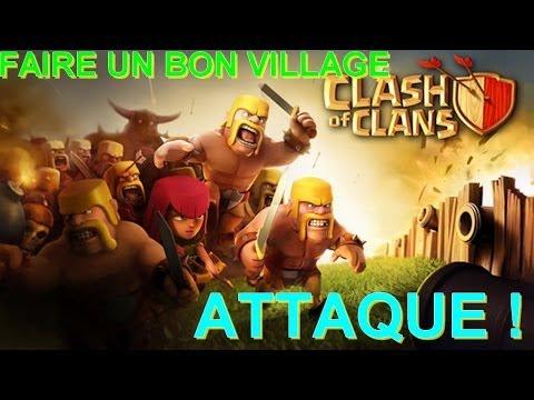 comment construire son village clash of clans