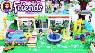 Lego Kids Backyard finished! Sophie & Henry's Custom Lego House Renovations DIY
