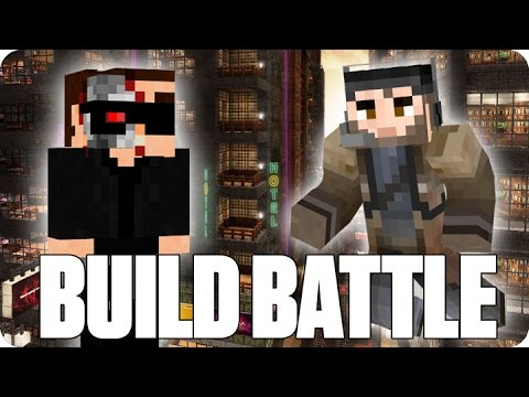 ¡TERMINATOR ESTA AQUI! BUILD BATTLE | Minecraft