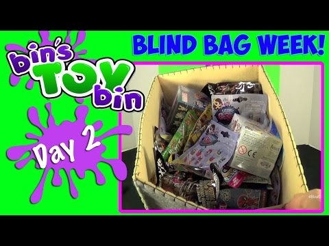 Bin - Blind Bag Week continues here on Bin's Toy Bin with Disney Funko Mystery Minis, LEGO Minifigures Series 12, Hello Kitty, Minions, Littlest Pet Shop, and Transformers! Stay tuned tomorrow for...