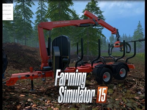 Stepa Forest Trailer With Crane v1.1