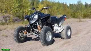6. Polaris Outlaw 525 IRS ATV - First Test Ride