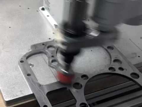 Milling Motor on Scara Robot