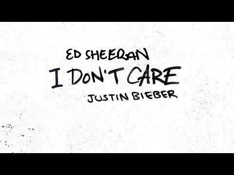 Ed Sheeran & Justin Bieber – I Don't Care (Official Audio)