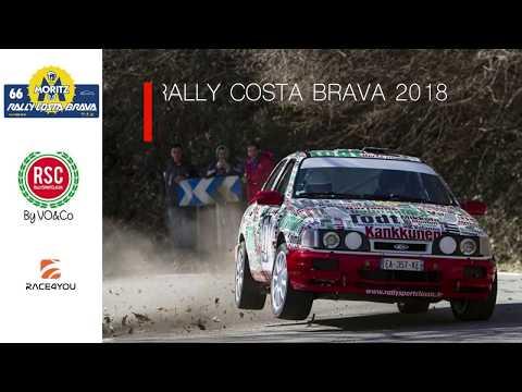 Rally Costa Brava 2018 / Onboard avec Serge Cazaux et Maxime Vilmot dans la Ford Sierra Gr A