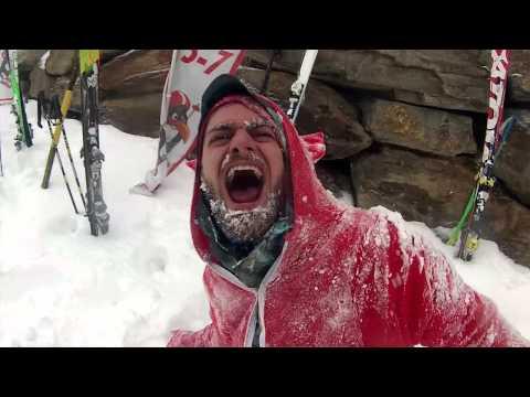 Snowbombing Austrian Mountais (видео)