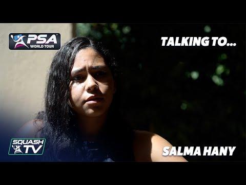 Squash: Talking To... Salma Hany