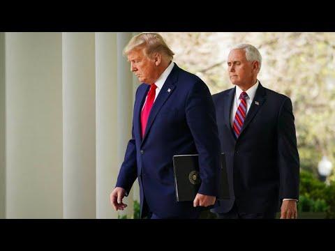 USA: Präsident Trump bereitet Bürger auf weitere Coro ...