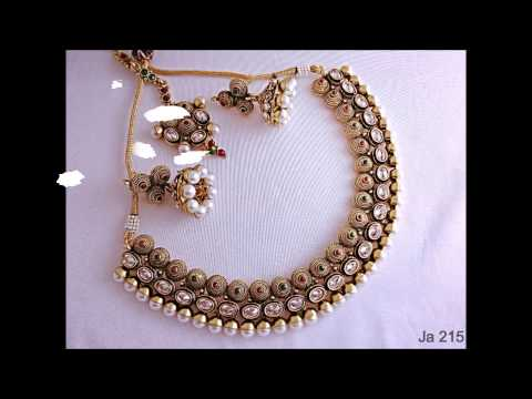 Necklace sets online, Wholesale imitation jewellery shops