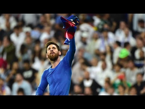 Lionel Messi Last Second Game Winning Goal Real Madrid vs FC Barcelona 2-3