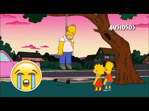 💔 Top 7 Episodio Emotivos/Tristes De Los Simpson 😭