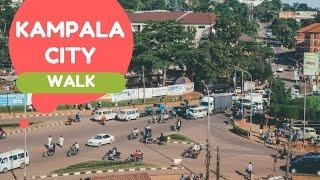 Walking Through Kampala City | Uganda Vlog