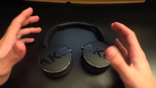Video Review of the AKG Y50 portable on-ear headphones - By TotallydubbedHD MP3, 3GP, MP4, WEBM, AVI, FLV Juli 2018