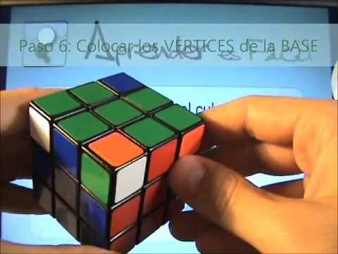 Aprender Matemáticas con el cubo Rubik – 13. Paso 6