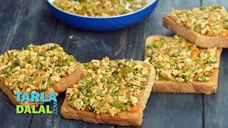 Open Paneer Masala Toast, Recipe Link : https://www.tarladalal.com/Open-Paneer-Masala-Toast-41508r Subscribe : http://goo.gl/omhUio Tarla Dalal App: http:/...
