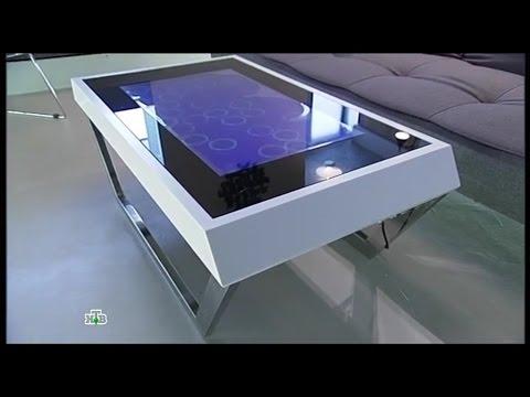 Кухня с умным столом