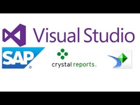 How to Download and install Crystal Report for all Visual Studio Versions