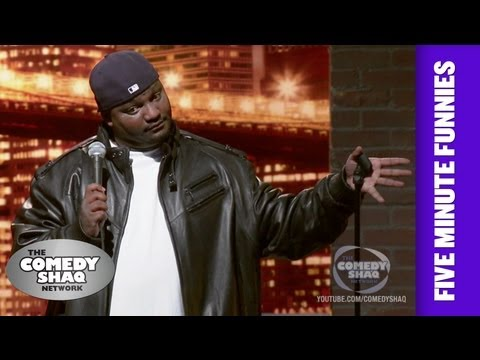 Aries Spears⎢You can't make horror movies with us!⎢Shaq's Five Minute Funnies⎢Comedy Shaq