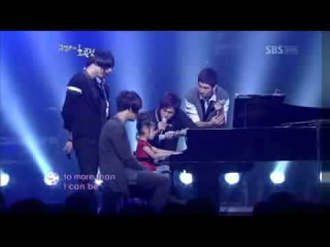 DBSK – You Raise Me Up [With The blind girl Yoo Ye-Eun]