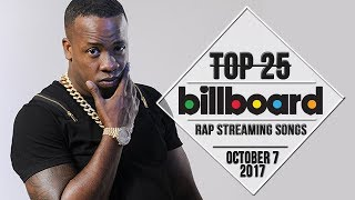 Top 25 • Billboard Rap Songs • October 7, 2017 | Streaming-Charts