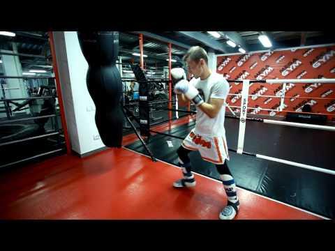 Кикбоксинг. Удар ногой Раундхаус кик(хай кик)- методика отработки с Мартыновым Андреем (видео)