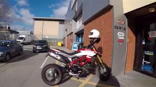 10. GoPro Chest Harness test on Ducati Hypermotard 939 SP 2018