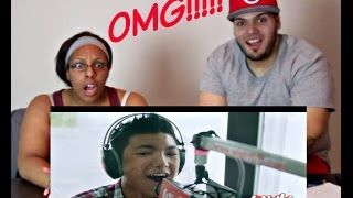 DARREN ESPANTO SINGS CHANDELIER REACTION!!!