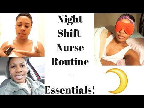 Night Shift Nurse Routine + Essentials!