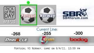 Euro 2012 Qualifiers - Portugal Vs Norway - Free Soccer Betting Pick