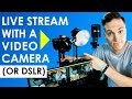 Download Lagu How to Live Stream with a Video Camera or DSLR  (Live Streaming Setup Tour) Mp3 Free